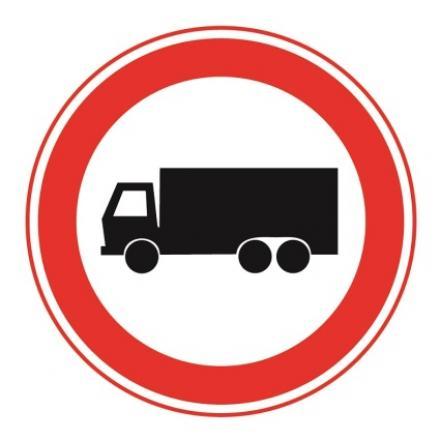 vrachtwagenverbod