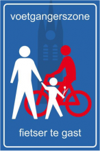 fietser te gast